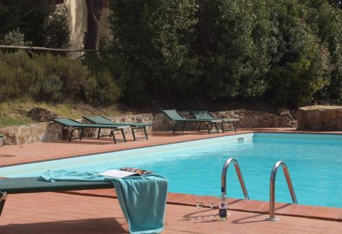 Бассейн в Agriturismo Corte Di Valle или поблизости