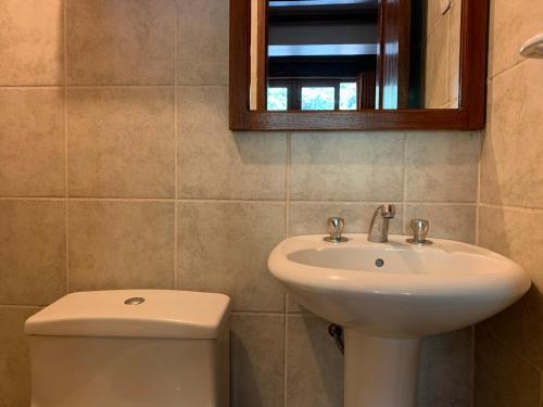 Salle de bains dans l'établissement Panorama B&B