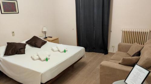 Cama o camas de una habitación en Casa Clara
