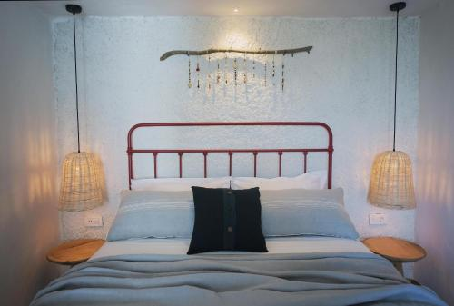 A bed or beds in a room at Yacht Boheme Hotel-Boutique Class - Adults Only