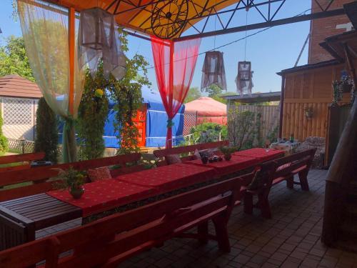 ห้องอาหารหรือที่รับประทานอาหารของ Klinskiy Dvor