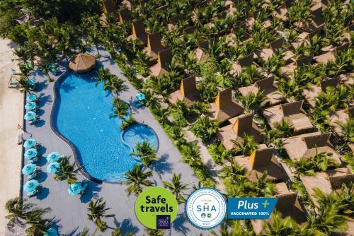 Phi Phi CoCo Beach Resort - SHA Plus Vaccinated a vista de pájaro