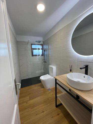 A bathroom at Fabuloso apartamento en Los Cancajos