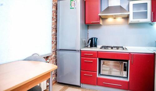 Кухня или мини-кухня в Большая Морская апартаменты