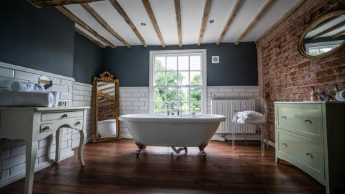 A bathroom at The Vicarage