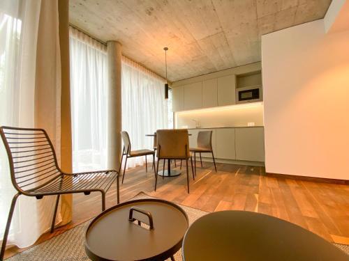 Essbereich im Aparthotel