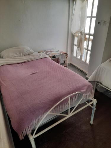 Cama o camas de una habitación en Essaouira Youth Hostel & Social Travel
