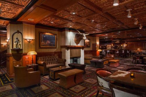 A seating area at The Driskill, in The Unbound Collection by Hyatt