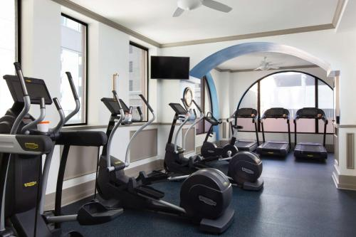 The fitness center and/or fitness facilities at The Driskill, in The Unbound Collection by Hyatt