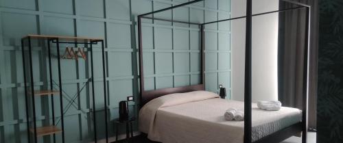 Letto o letti in una camera di Panoramica dei Templi B&B