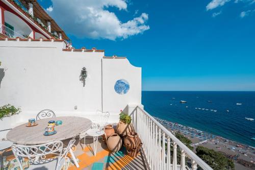 A balcony or terrace at Villa Giusy