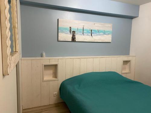 Un ou plusieurs lits dans un hébergement de l'établissement La Clé Des Songes