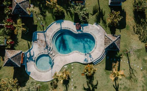 A view of the pool at Village Bali or nearby