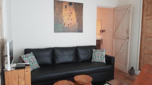 Uma área de estar em Aan de Cauberg