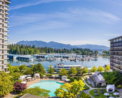 A view of the pool at The Westin Bayshore, Vancouver or nearby