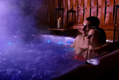 Bazén v ubytovaní Tatragolf Mountain Resort alebo v jeho blízkosti