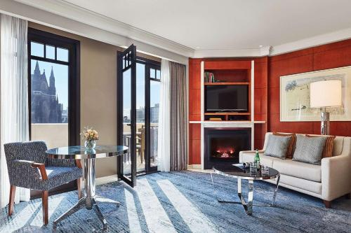 A seating area at Park Hyatt Melbourne