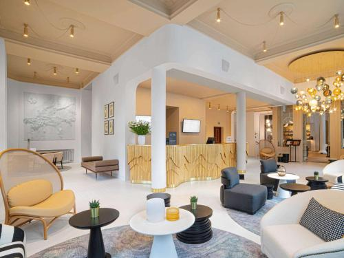 Lounge oder Bar in der Unterkunft Rezydent Sopot MGallery Hotel Collection