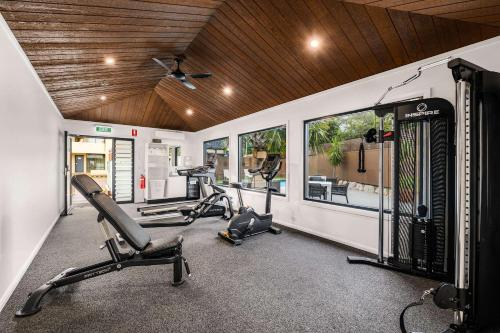 The fitness center and/or fitness facilities at Quality Hotel City Centre