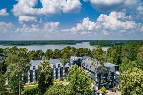 Widok z lotu ptaka na obiekt Hotel Warszawa Spa & Resort