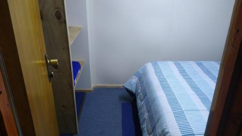 Cama o camas de una habitación en Islanet Hostel & Bar