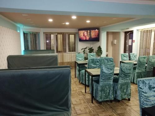 Гостиная зона в Отель Восток
