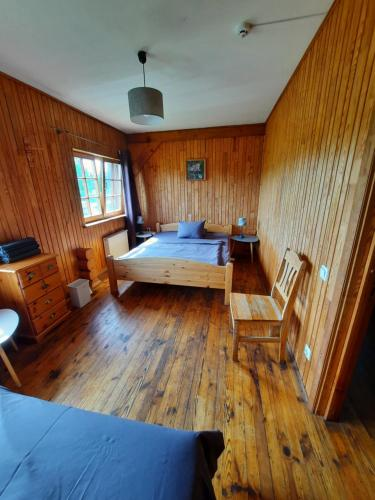 A bed or beds in a room at Jaun-Ieviņas