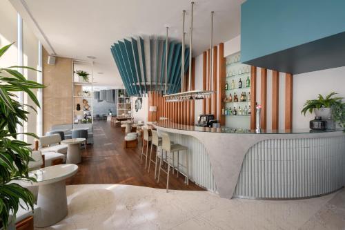 O lounge ou bar de Melia Lisboa Oriente Hotel