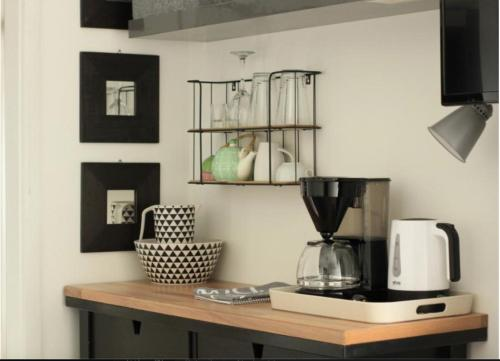 Küche/Küchenzeile in der Unterkunft Arabella