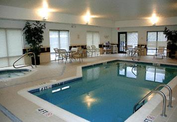 The swimming pool at or near SpringHill Suites Prince Frederick