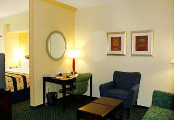 A seating area at SpringHill Suites Prince Frederick