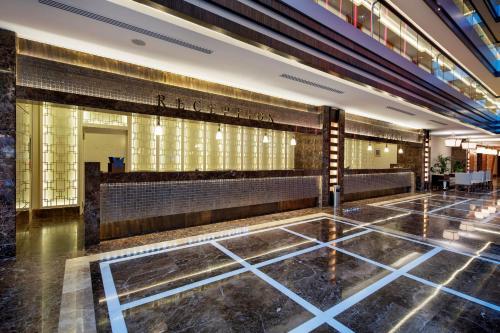 Lobby/Rezeption in der Unterkunft Liberty Hotels Lara