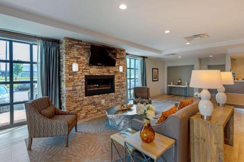 A seating area at Comfort Inn & Suites East Ellijay