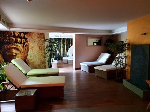 Area soggiorno di Hotel Geiger