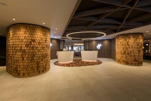 The lobby or reception area at Holiday Inn Edinburgh Zoo, an IHG Hotel