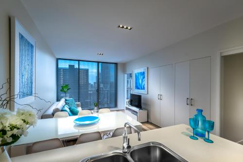 A bathroom at Milano Serviced Apartments