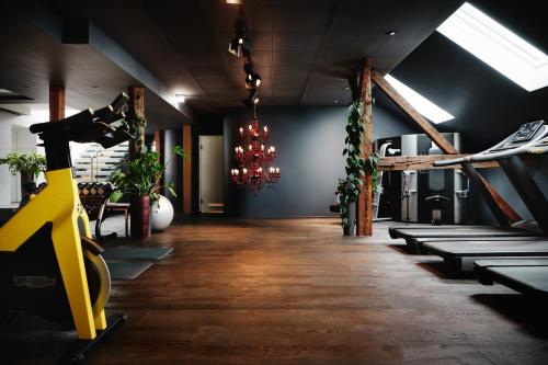 The fitness center and/or fitness facilities at Hotel Weitzer Graz
