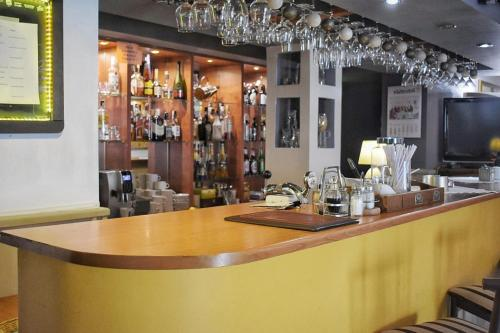 The lounge or bar area at Hotel Zbyszko