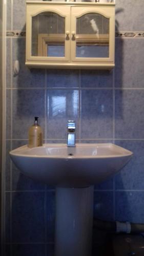 A bathroom at Flat studio Hackney