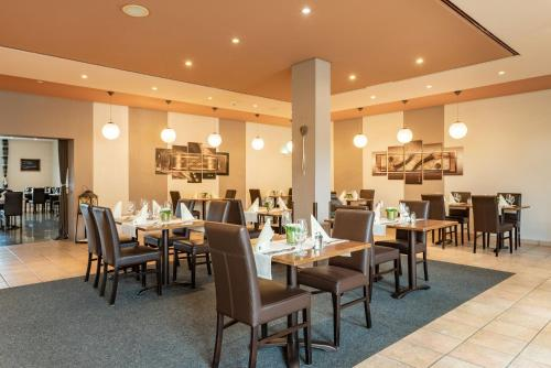 A restaurant or other place to eat at Hotel Rhön Residence