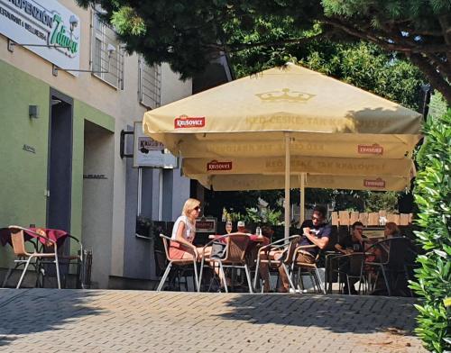 Reštaurácia alebo iné gastronomické zariadenie v ubytovaní AgroPenzion 7divov