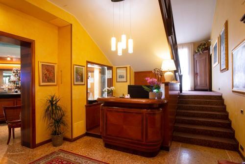 Hall o reception di Hotel Cima