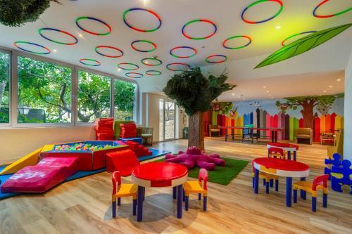 The kid's club at Hilton Cartagena