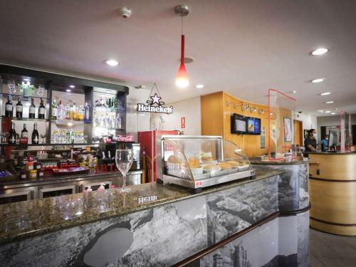 O lounge ou bar de ibis Teresina