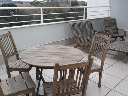 A balcony or terrace at Premier Parc Hotel