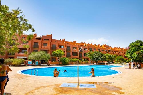 The swimming pool at or near Sotavento Apartment. 1 Bedroom, 2º floor.