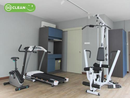 The fitness center and/or fitness facilities at Greatwood Residence at Devonshire