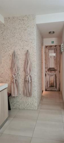 A bathroom at ZEN b & b