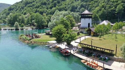 A bird's-eye view of Turističko naselje Natura Art-Hotel Opal Art