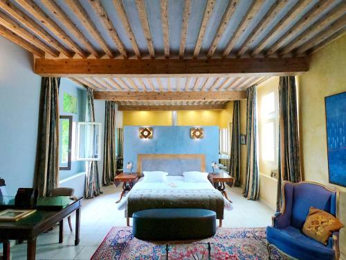 Un ou plusieurs lits dans un hébergement de l'établissement Artishow
